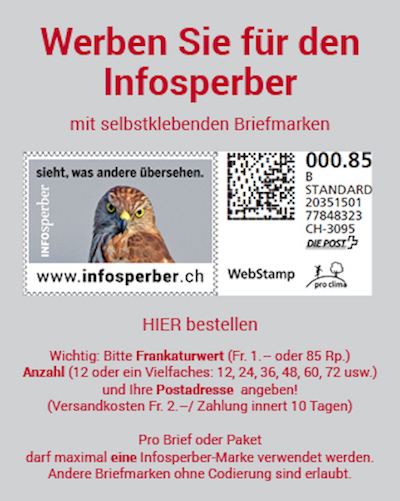 brief mit briefmarke