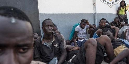 libya detention camp