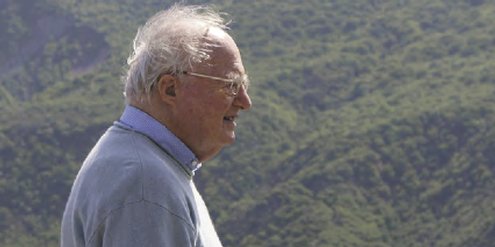 Arnold Hottinger im Mai 2014 in Tbilissi, Georgien