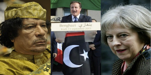 «David Cameron had taken the country to war against Gaddafi on a series of ‹erroneous assumptions›»