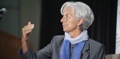 IWF-Direktorin Christine Lagarde: Kleine Konzession an China