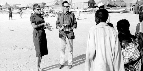 Goldy Parin-Matthèy und Paul Parin, Niger 1960