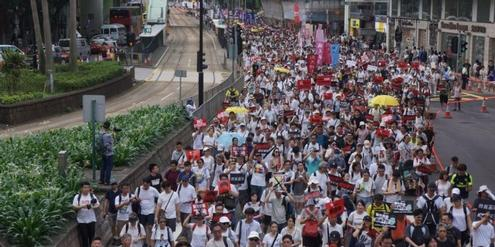 Kein Ende in Sicht: Proteste gegen China in Hongkong