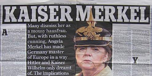 Daily Mirror vom 20. April 2013