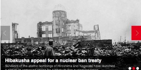 ICAN Anti nuclear weapons