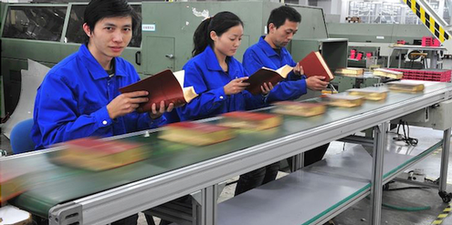 Bibeln am Fliessband: Bibeldruckerei Amity Printing in Nanjing