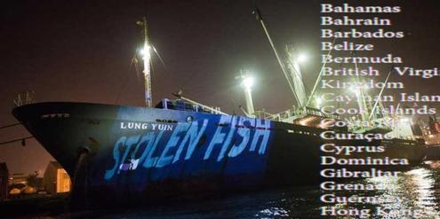 illegal fishing, tax heaven, environment
