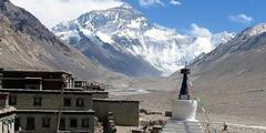 Tibetanisches Kloster: Basislager am Mount Everest