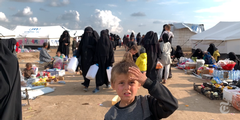 Al Hol, Children, Refugee Camps, foreign IS-Fighters