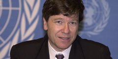 Professor Jeffry Sachs, Direktor des «Earth Institute» der Colombia University