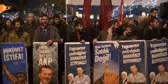 Erdogan-Demonstration-Korruptionsskandal