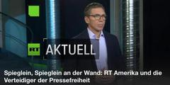 Russia Today RT in Deutschland zur Pressefreiheit in den USA