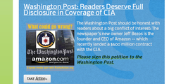 E CIA, Washington Post und Amazon