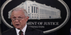 Jeff Sessions: US-Justizminister und oberster US-Staatsanwalt