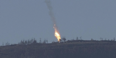 Turkey shot down a Russian military jet near the Turkish/Syrian border