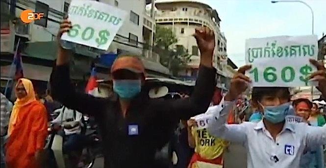 ProtestTextilarbeiter