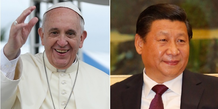 Papst_Franziskus_Xi_Jinping