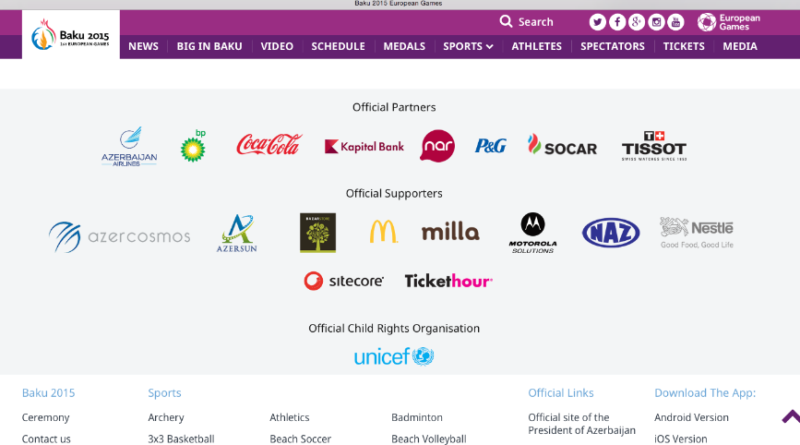 Baku_2015_Sponsoren