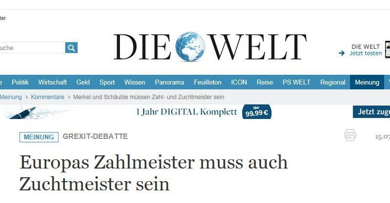 GriechenlandZahlZuchtmeister_SpringerDieWelt15Juli2015