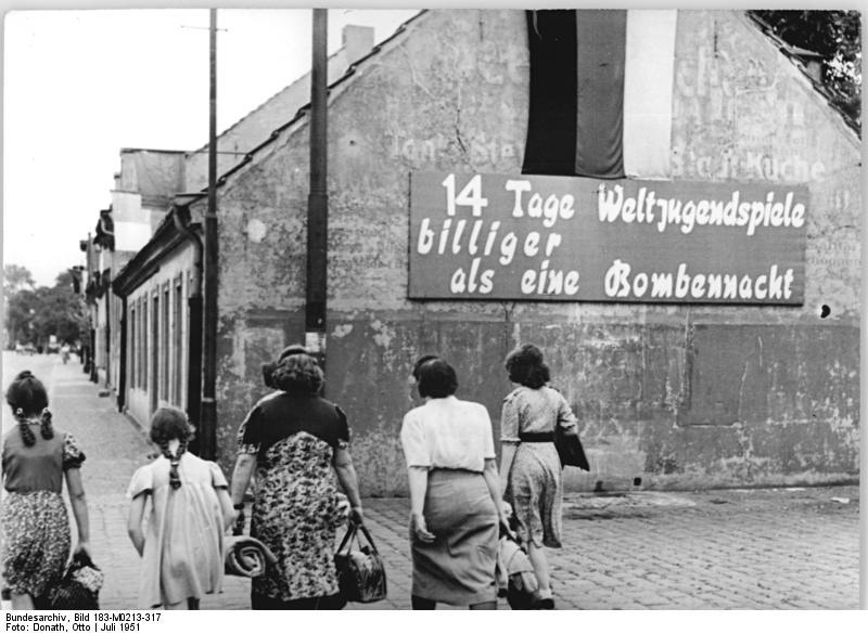 Weltjugendfestspiele1951WikimediaCommons
