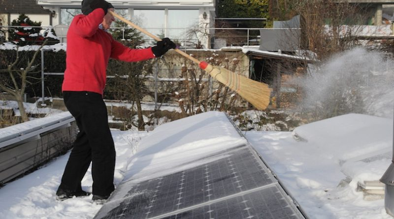 Fotovoltaik_Winter