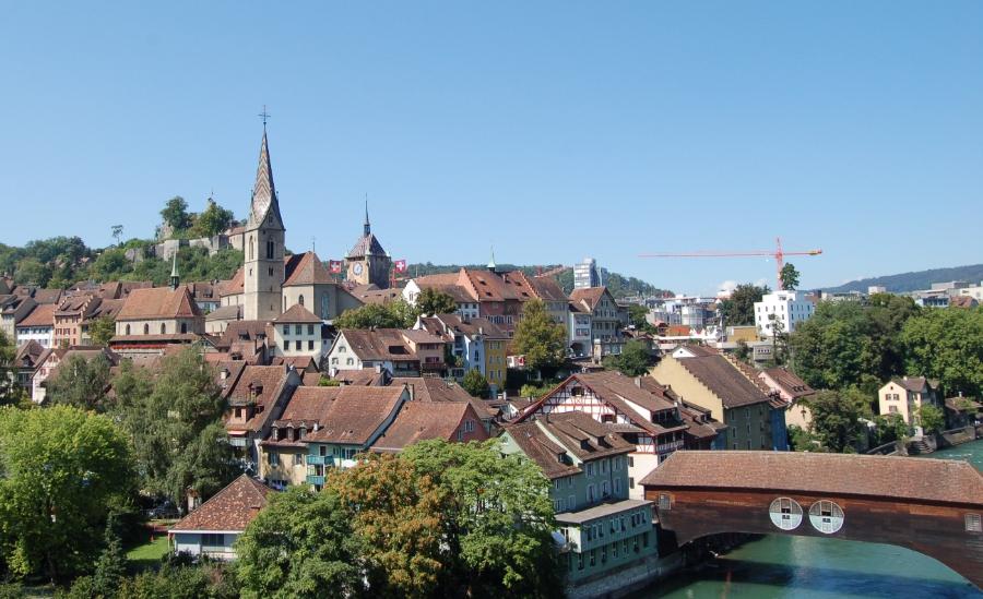 SwitzerlandBadenoldcityview