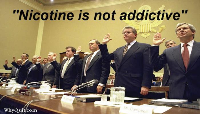 NicotinNotAddictiveKopie