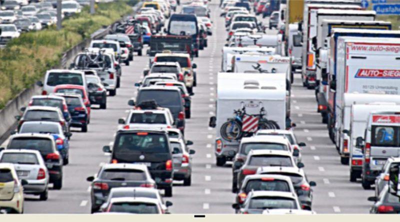 Autobahnstaubild