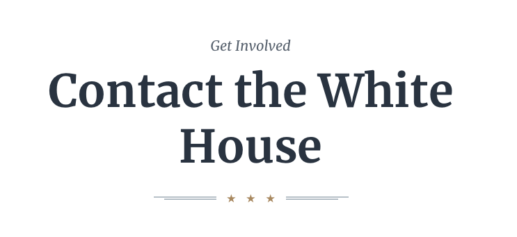Contact_the_White_House