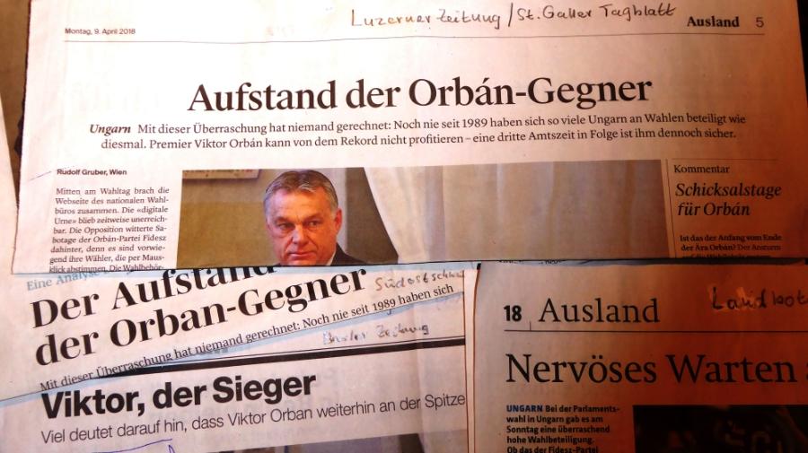 ZeitungsausschnitteUngarnWahl
