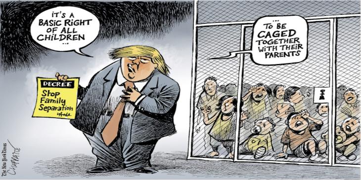 Trump_Fluechtlingskinder_Front