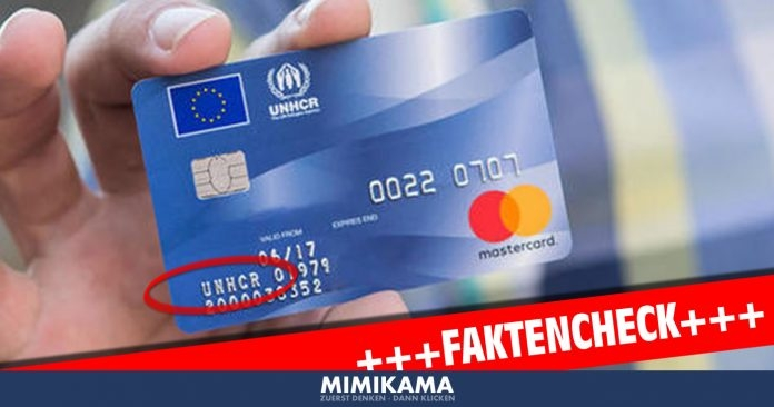 UNHCR_Kreditkarte_Fake