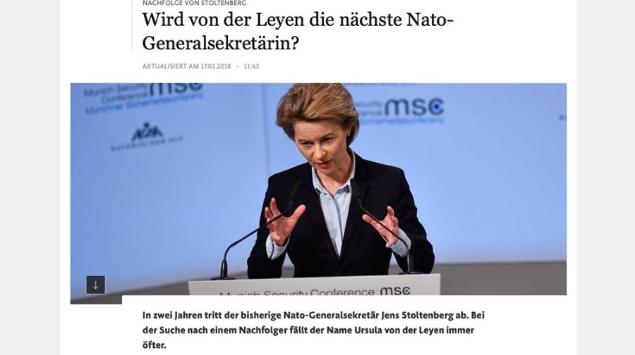 NATOGeneralsekretrin