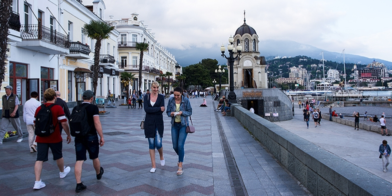 Jalta_Promenade