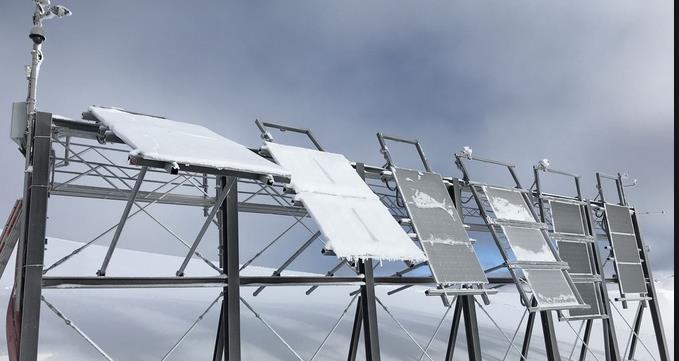 SolareTestanlageimParsennfgebietbeiDavos