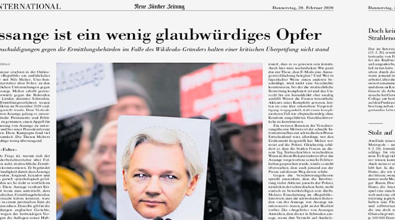 200220_NZZ_Assange_Front