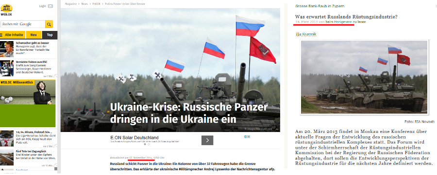 RussischePanzerdringenindieUkraineein