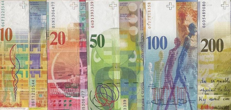 schweizerbanknoten