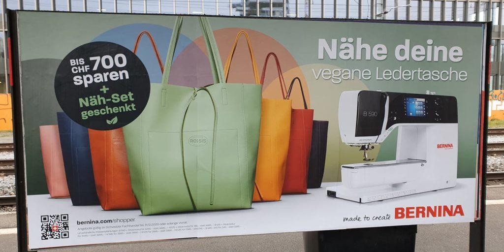 Bernina vegan Plakat