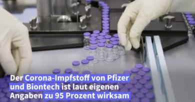 Pfizer Corona Impfstoff.dailymotion