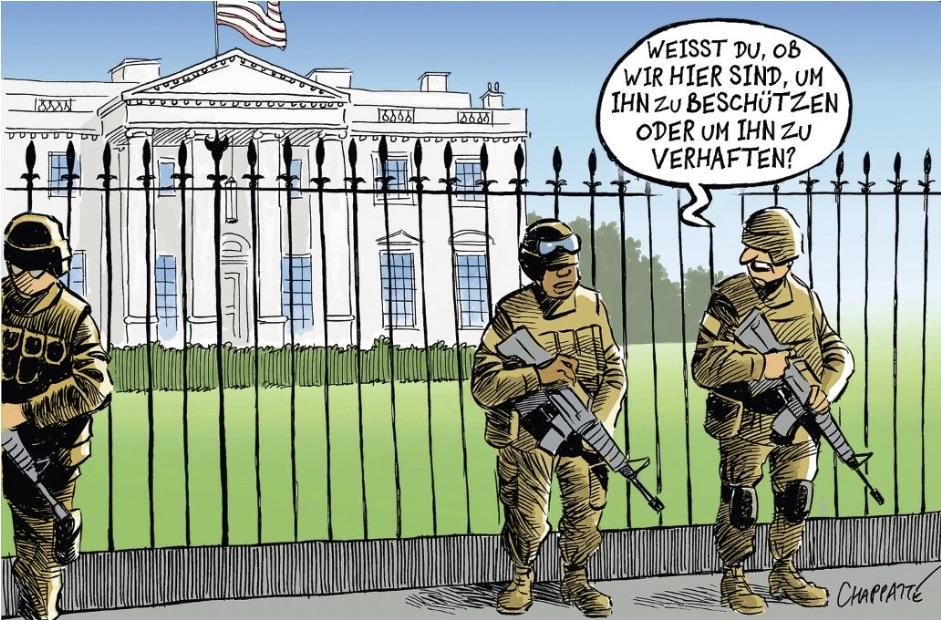 Trumps letzte Tage