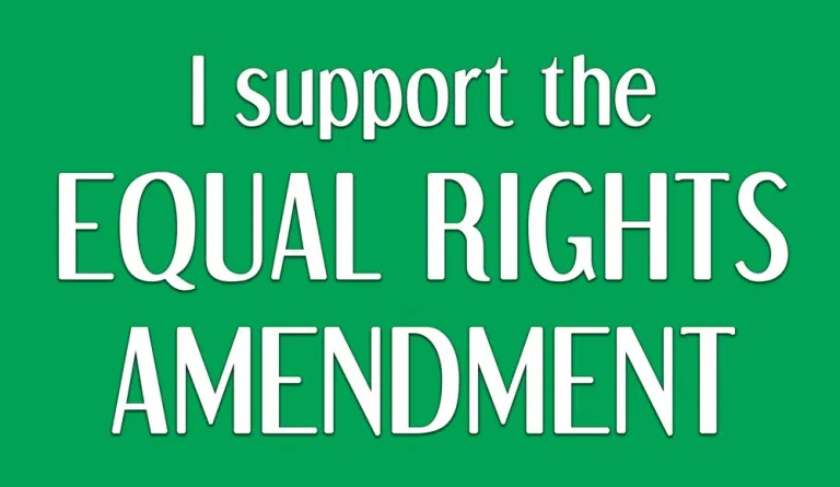Equal Rights Amendement