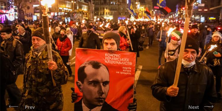 112. Geburtstag von Stepan Bandera in Kiev