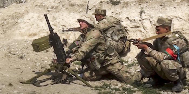 Aserbaidschanische Soldaten