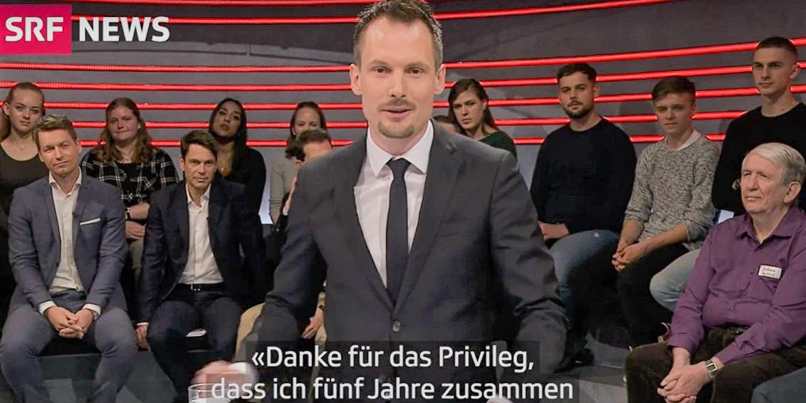 Jonas Projer Abschied von der Arena SRF