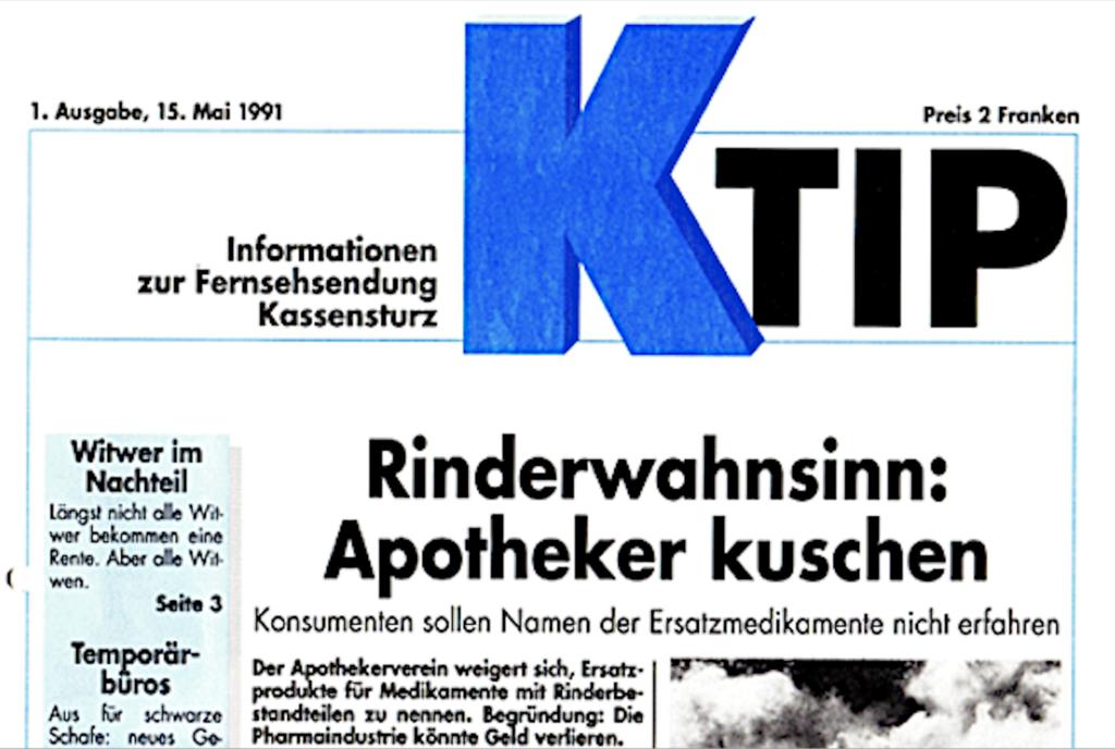 K-Tipp Cover 15.5.1991