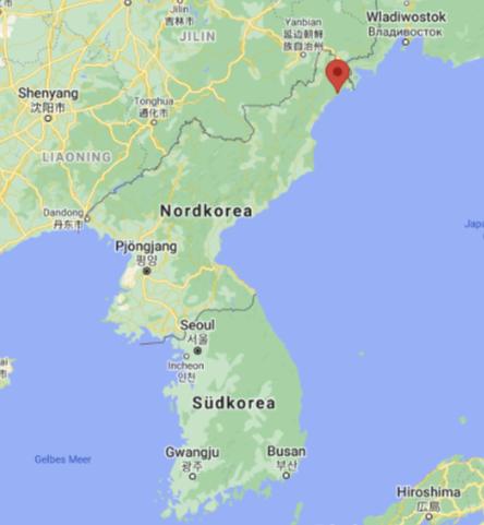 Rajin Nordkorea