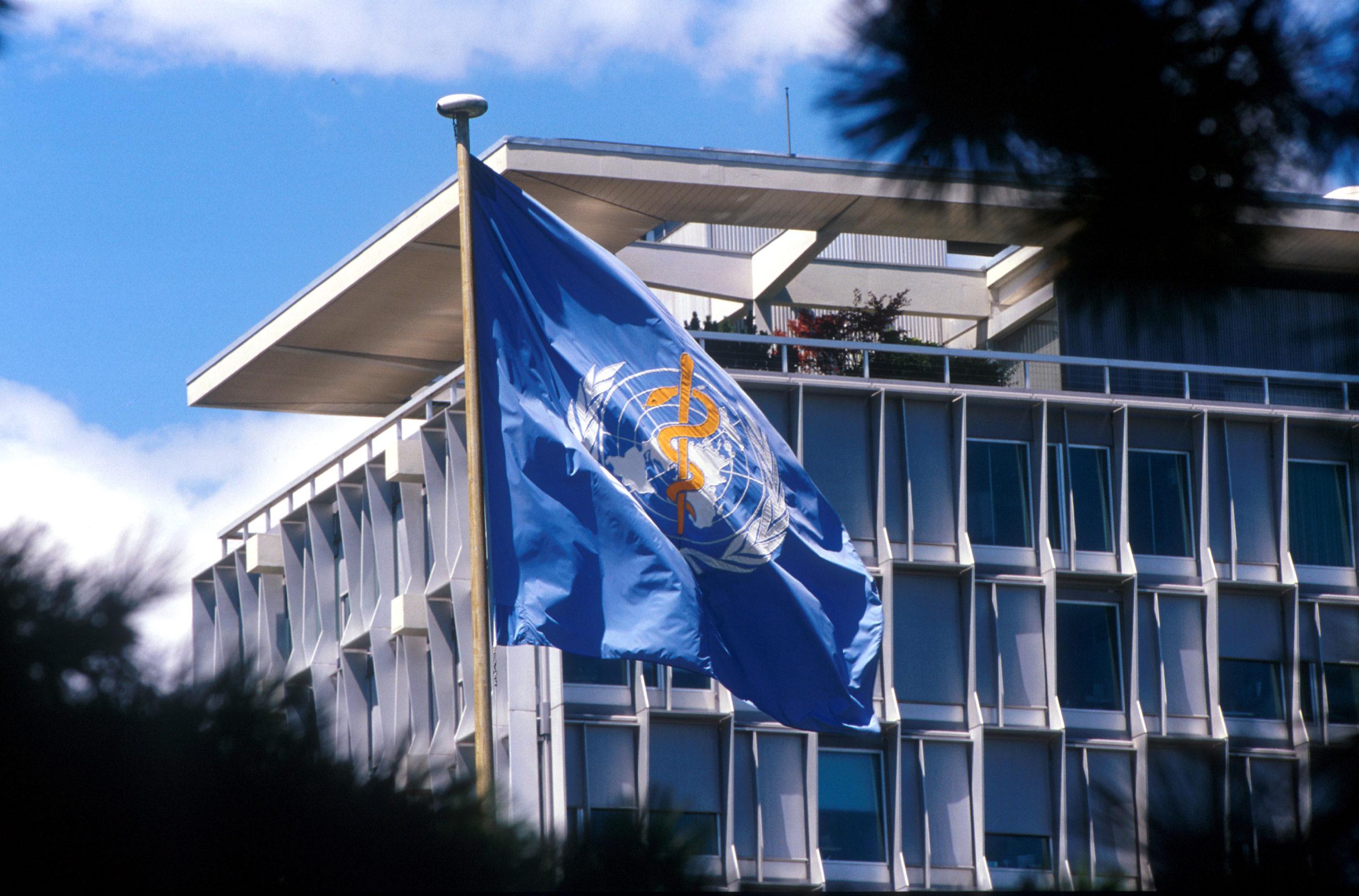 WHO Head-Quater in Geneva, Switzerland.Copyright : WHO/Pierre Virot