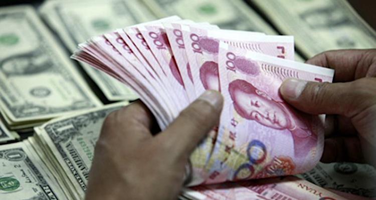 Yuan Dollar. Caixin