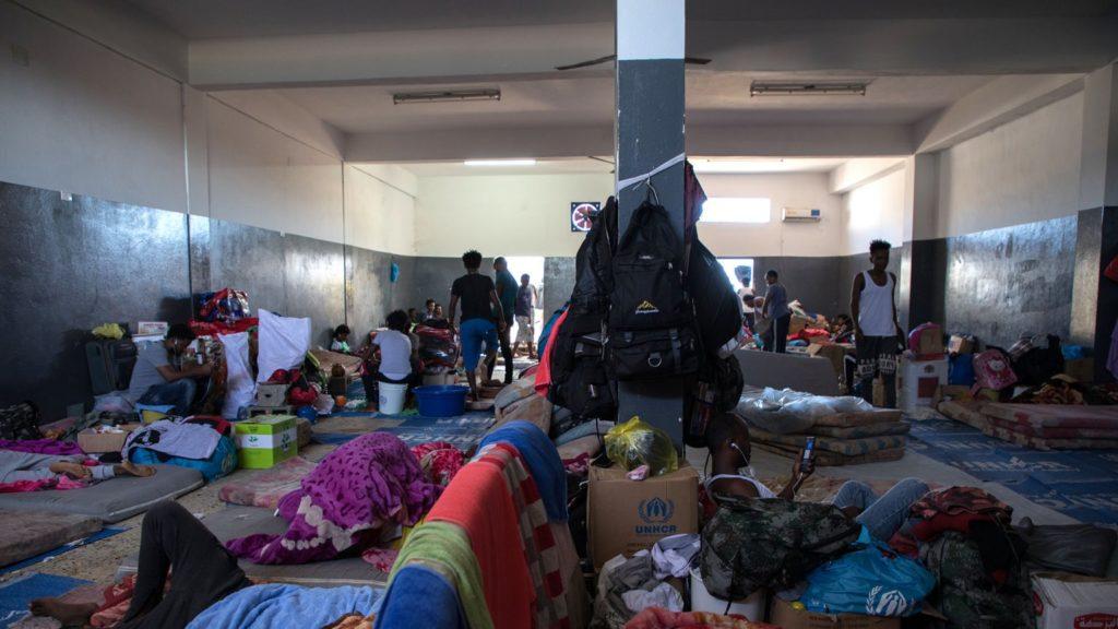 Internierungslager Libyen
